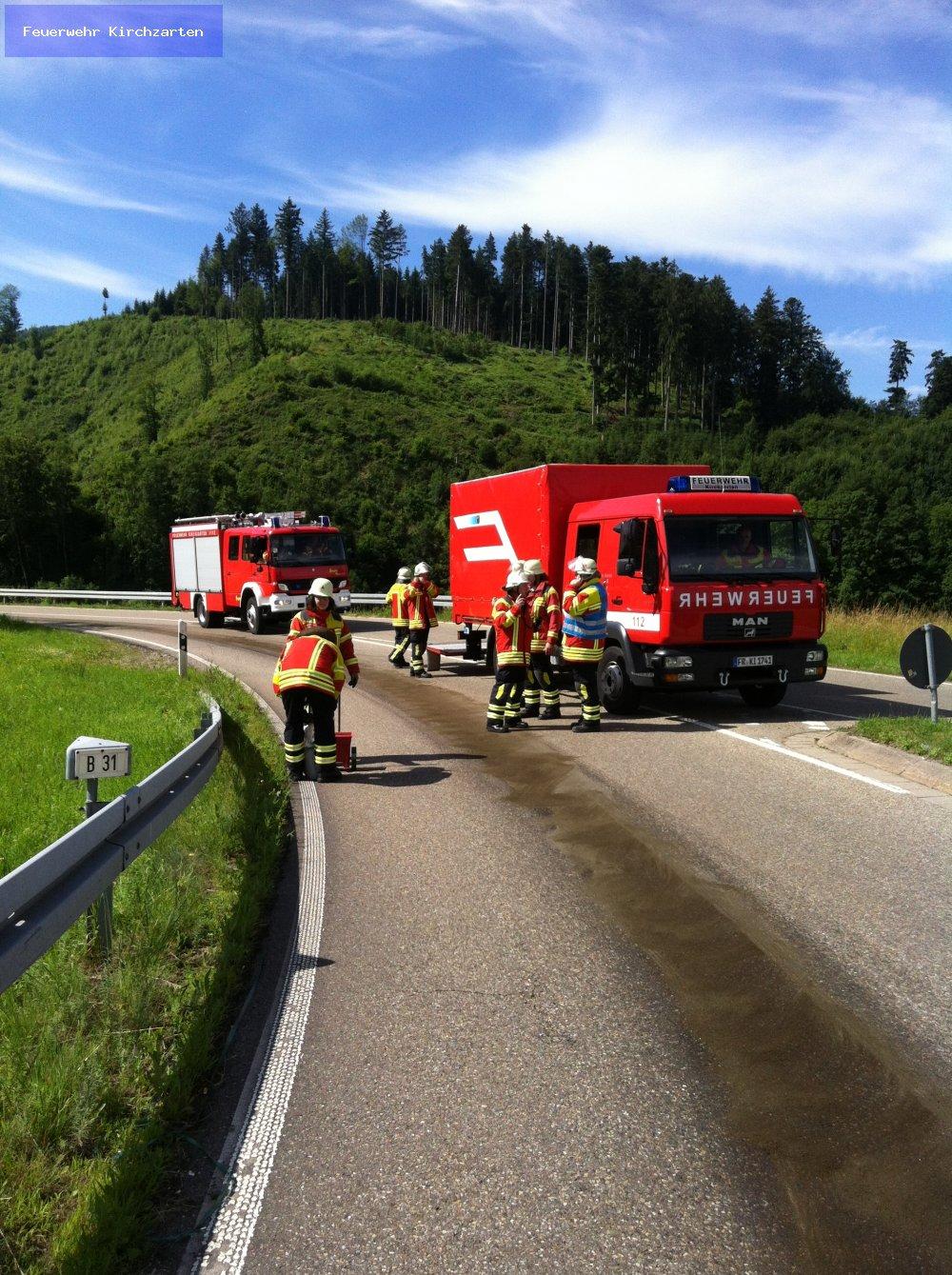 Hilfeleistung - H1 vom 21.06.2012  |  Feuerwehr Kirchzarten (2012)