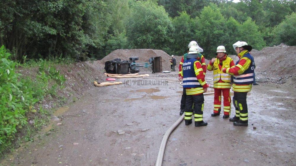 Brandeinsatz - B1 vom 21.06.2012  |  Feuerwehr Kirchzarten (2012)