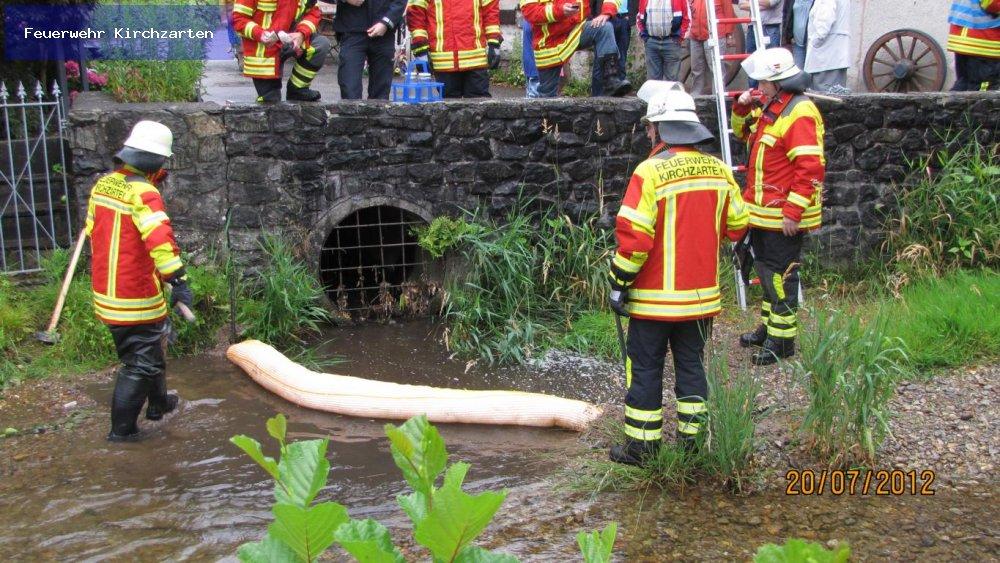 Gefahrstoffeinsatz - ABC1 vom 20.07.2012  |  Feuerwehr Kirchzarten (2012)