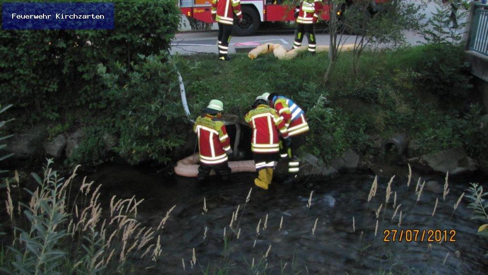 Gefahrstoffeinsatz - ABC1 vom 27.07.2012  |  Feuerwehr Kirchzarten (2012)