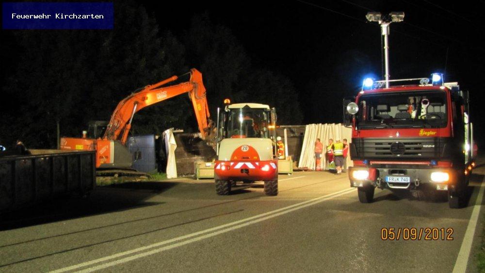 Hilfeleistung - H3 vom 05.09.2012  |  Feuerwehr Kirchzarten (2012)