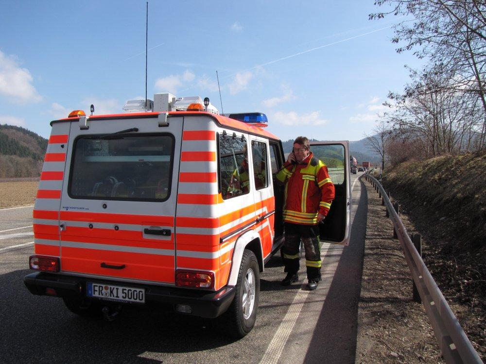 Brandeinsatz - B1 vom 12.03.2012  |  Feuerwehr Kirchzarten (2012)